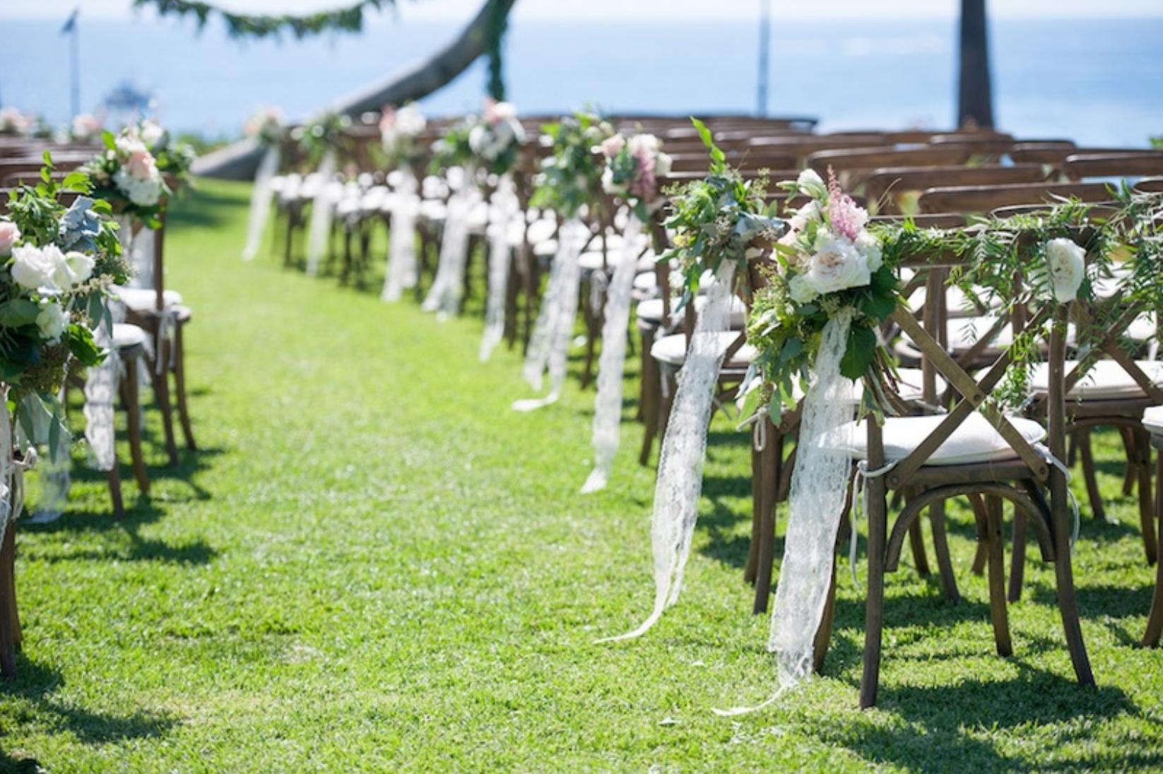 Vintage Beach Wedding Ceremony: Ceremonies & Cabanas