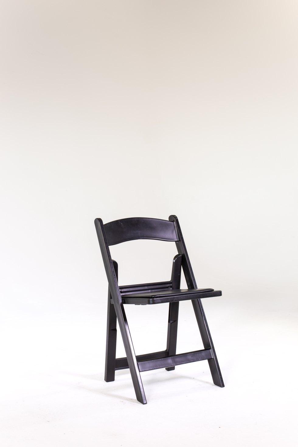 Signature Party Rentals Black Resin Folding Chair Rentals