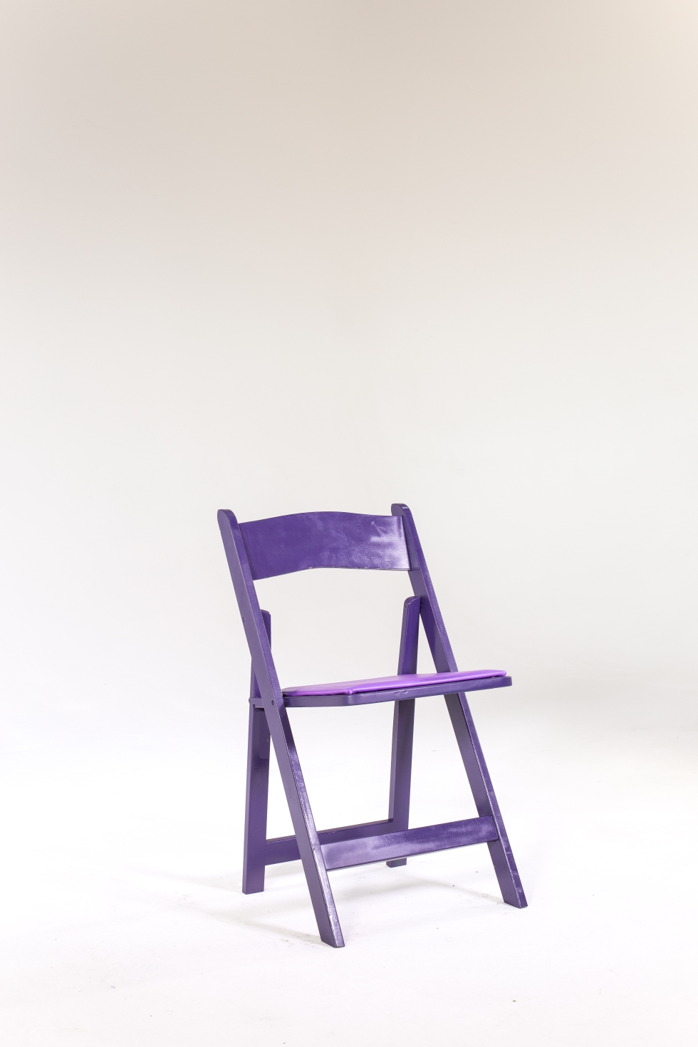 Signature Party Rentals PURPLE WOOD FOLDING CHAIR inside Rentals