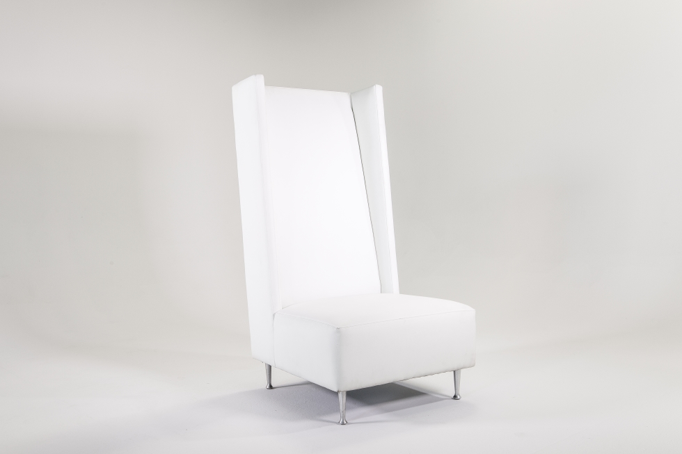 Signature Party Rentals High Back Chair White 2907 Rentals